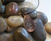 Live the Life You Want to Live Necklace