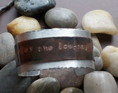Enjoy the Journey-Mixed Metals Cuff