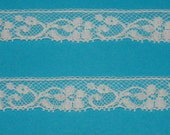 Ecru French Lace Edging by the Yard