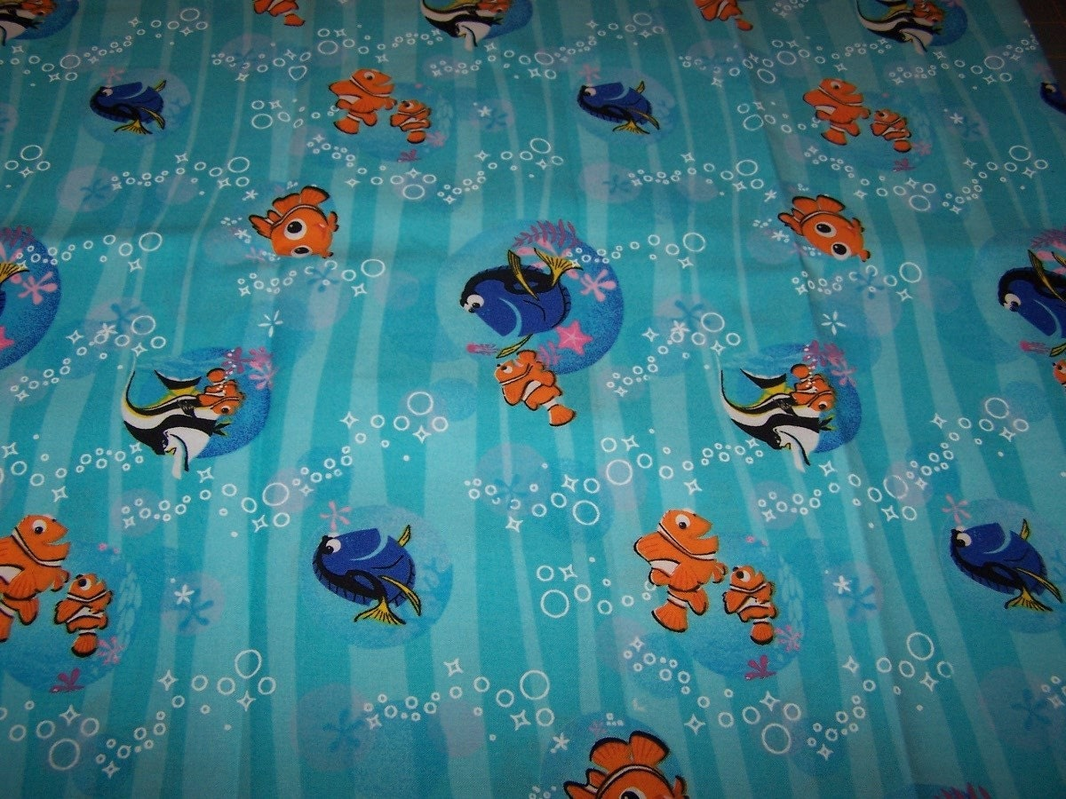 Disney Finding Nemo Fabric 1 Yard