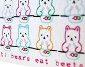 Bears Eat Beets Card