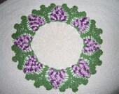 Grape Doily