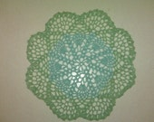Blue\/Green Doily