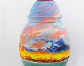Key West Sunset Jar
