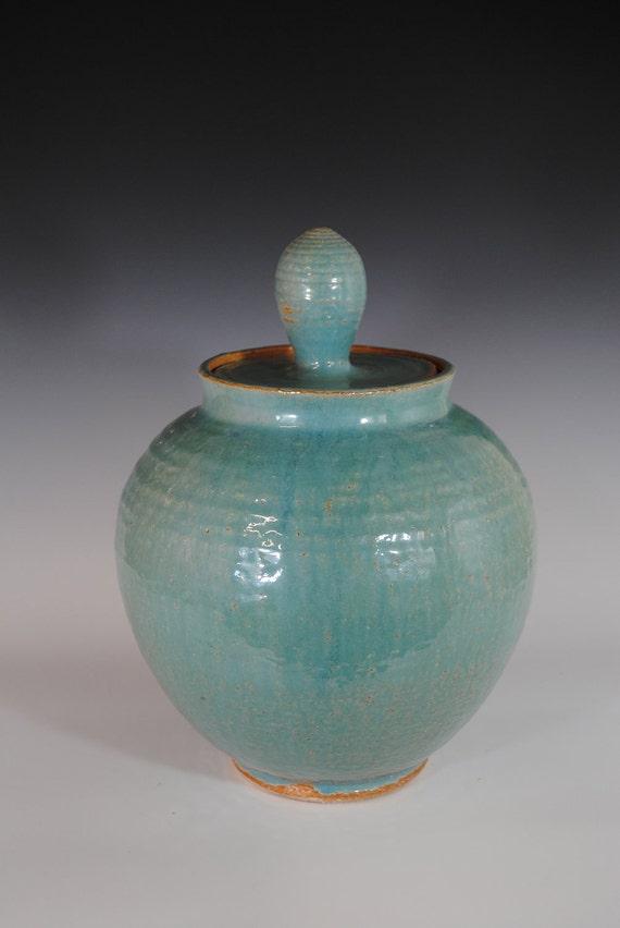 Jar: Blue Cookie Jar, Ocean Blue Multi-purpose Jar