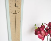 FREE SHIPPING pendolo clock - vintage blue