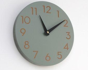 10 inch modern numbers clock