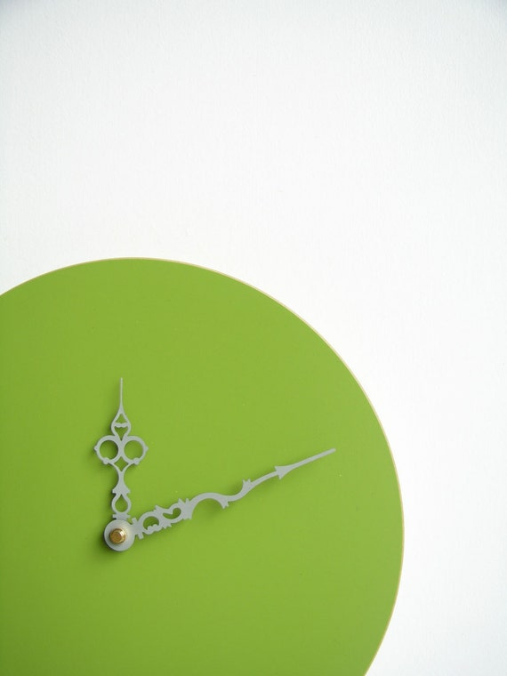 apple green victorienne clock