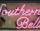 Reclaimed Neon Sign - Southern Belle