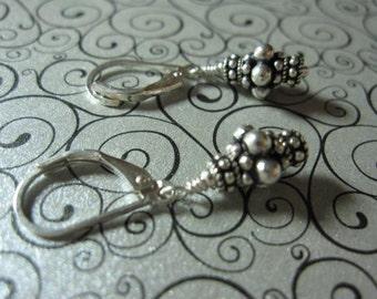 fatdog Earrings - EB402 Sterling Silver Bead