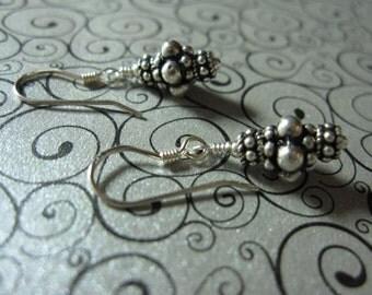 fatdog Earrings - EB401 Sterling Silver Bead