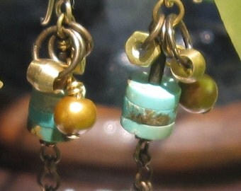 fatdog ToolBox Collection Earrings - TBE208 Original Turquoise