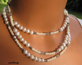 fatdog Necklace - N106 Suzanne's Pearls 50