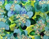 Acrylic Painting by Liz Cole   Hiding Deep Within My Grandmas Garden