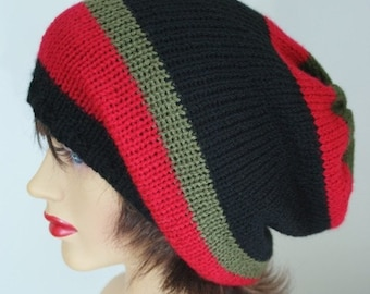 knitted oversized Slouchy Beanie, Slouchy, Valentines Day, Slouch, Skater Hat, Dreads