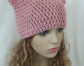 kitty cat emo beanie role play hat