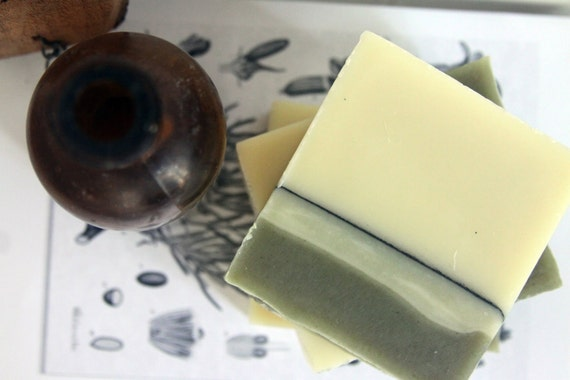Spruce Mint Soap Vegan Organic Ingredients
