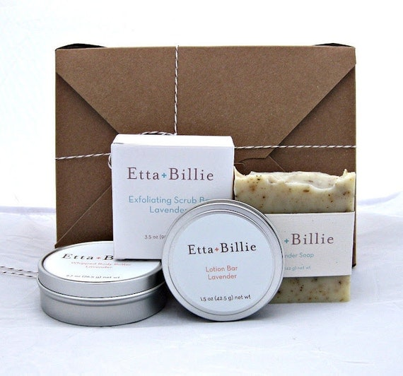 Large Gift Box of Eco-Friendly Bath and Body Products