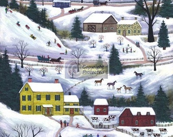 Winter in the Valley - Limited Edition Print _ by J.L. Munro