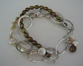 Tres Chic Bracelet by Gypsyjanes on Etsy