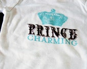 SALE - Prince Charming Baby Onesie