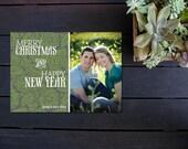 Custom Cards - Merry Christmas & Happy New Year Greeting