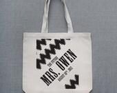 The Future Mrs. Large Custom Tote Bag