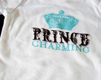 SALE - Prince Charming Baby Onesie