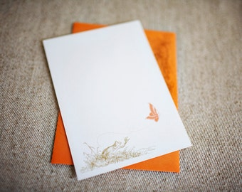 SALE - Froggy Blank Notes (Set of 10)