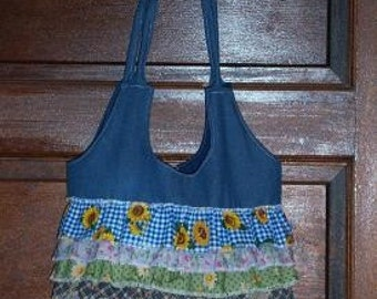 Handmade Spring Jean Pures\/Tote