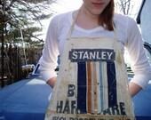 Vintage Utility Apron BEPLAT HARDWARE 15001 ROOSEVELT AVE FLUSHING NY