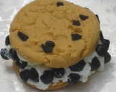 Ice Cream Soap - AJSweetSoap Ice Cream Soapwich - Food Soap - Realistic Cookie Soap