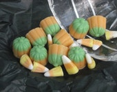 Fall MIx Candy Soap - Halloween Candy Corn and Pumpkin Soap