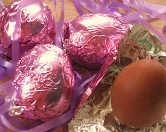 Chocolate Egg Soap - Easter Egg Vegan Candy Soap