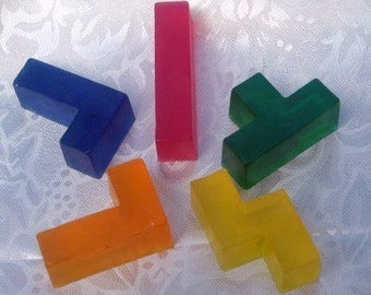 Video Game Soap -  Soap-Tris Puzzle Soap