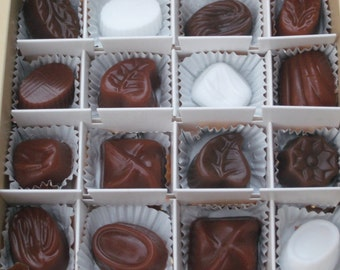 Chocolate Candy Soap Gift Set - Valentines Day - Chocolate Soap