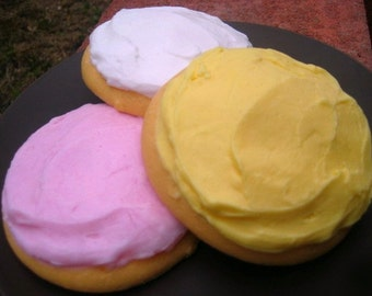 Cookie Soap - Bakery Soap - Cookie Soap Complete Party Favor Set of 10 - Party Favors - Vegan Spa - Gift for Kids - Sugar Cookies
