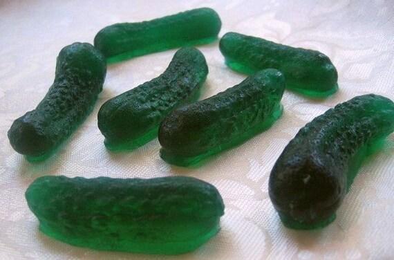 In A Pickle - Fun Food Gherkin Pickle Soap
