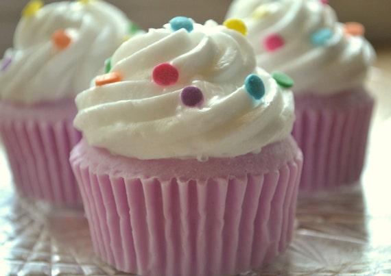 Cupcake Soap - Party Confetti Cupcake Soap - Vegan Soap - Realistic Cupcake - Food Soap - Dessert - Party Favor