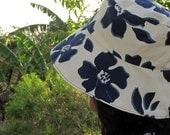 Tuhong Hatdin - Garden Hat (blue)
