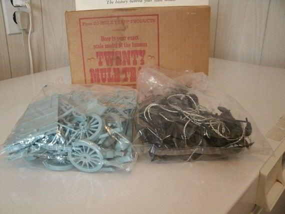 Borax Twenty Mule Team Model Kit