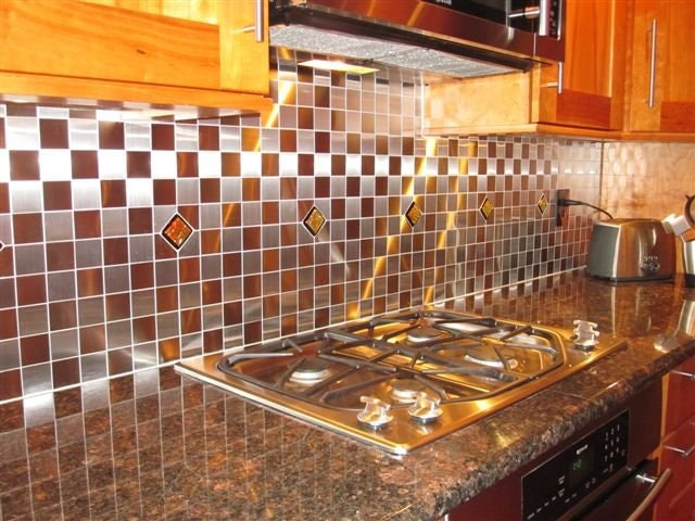 red tiles for kitchen backsplash kitchen backsplash accent tile in by uneekglassfusions 25562