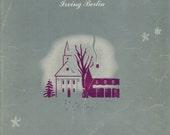Lot of 2 Vintage Sheet Music, White Christmas, by Irving Berlin, 1942, My Last Goodbye, E. Howard, 1939