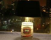 Dab mini keg beer lamp