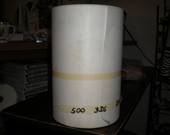 New 500 Yards Of Commerical Grade Embroidery Stabilizer