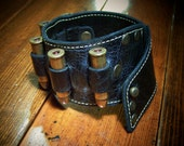 Bandolier Cuff with .357 bullets