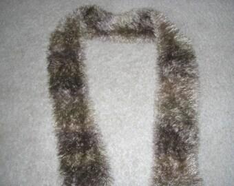 Handmade Knit Scarf 5 x 60
