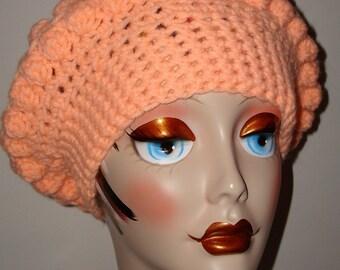 Hand Crochet Slouchy Bobble Tam Berets/Clearance'Women's Beret's/Women's Accessories/Unique Tams/Teen's Accessories/Fashion Berets/Tams
