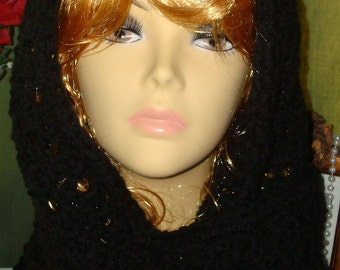 Hand Crocheted Victorian Style Shawl/Prayer Shawl/Head Scarf/Prayer Scarf/Women's Accessories/Fashion Accessories/Fall/Winter/Spring/Summer