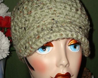 Pattern Crochet Urban Girl Newsboy Cap (Pattern in PDF Format in digital download)/May sell the finished product/Women's accessories/hat